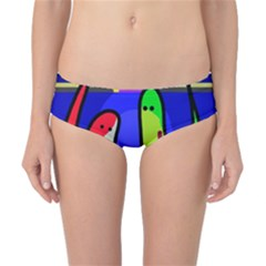 Colorful snakes Classic Bikini Bottoms by Valentinaart