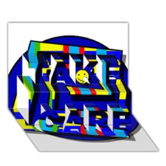 Maze Take Care 3d Greeting Card (7x5)