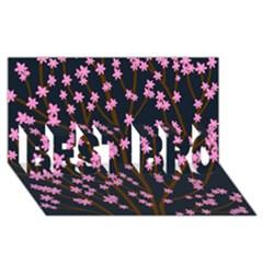 Japanese Tree  Best Bro 3d Greeting Card (8x4)