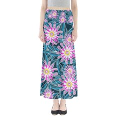Whimsical Garden Women s Maxi Skirt
