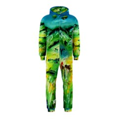 Abstract Landscape Hooded Jumpsuit (Kids) by artistpixi