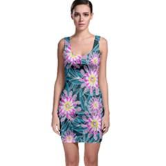 Whimsical Garden Bodycon Dress