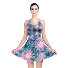 Whimsical Garden Reversible Skater Dress