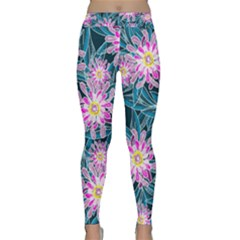 Whimsical Garden Yoga Leggings