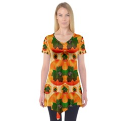 Want To Put Them Back On The Tree Short Sleeve Tunic  by pepitasart