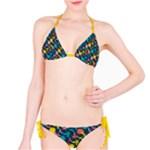 Colorful Floral Pattern Bikini