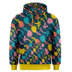 Colorful Floral Pattern Men s Pullover Hoodie