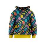 Colorful Floral Pattern Kids  Pullover Hoodie