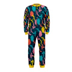 Colorful Floral Pattern OnePiece Jumpsuit (Kids)