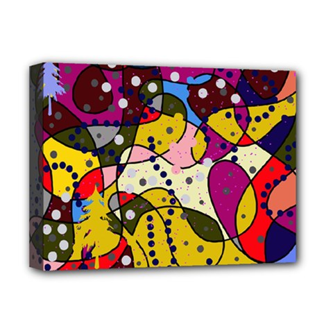 New Year Deluxe Canvas 16  X 12   by Valentinaart