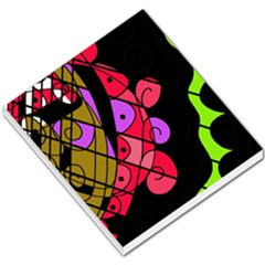 Elegant Abstract Decor Small Memo Pads by Valentinaart