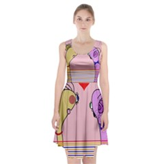 Love Racerback Midi Dress by Valentinaart