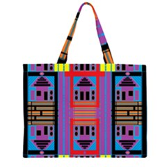 House O House Zipper Large Tote Bag by MRTACPANS