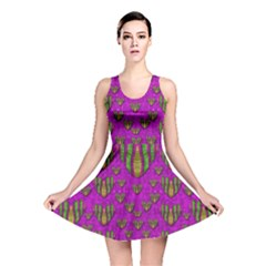 Love In Colors And Heart In Rainbows Reversible Skater Dress by pepitasart