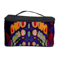 Disco Pattern Cosmetic Storage Case by Cveti