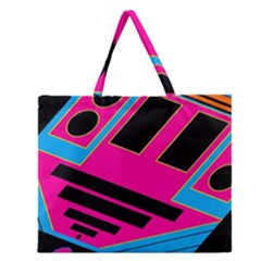 Olool Zipper Large Tote Bag by MRTACPANS
