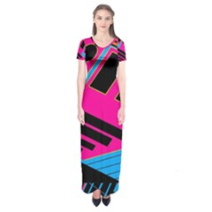 Olool Short Sleeve Maxi Dress by MRTACPANS