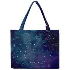 Constellations Mini Tote Bag by DanaeStudio