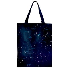 Constellations Zipper Classic Tote Bag by DanaeStudio