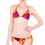 Geometric Fall Pattern Bikini