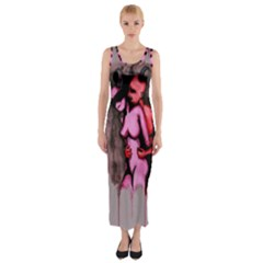 Whisper Fitted Maxi Dress by lvbart