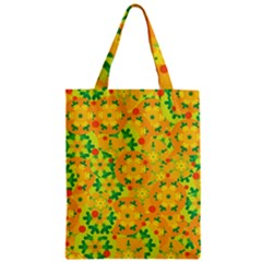 Christmas Decor   Yellow Zipper Classic Tote Bag by Valentinaart
