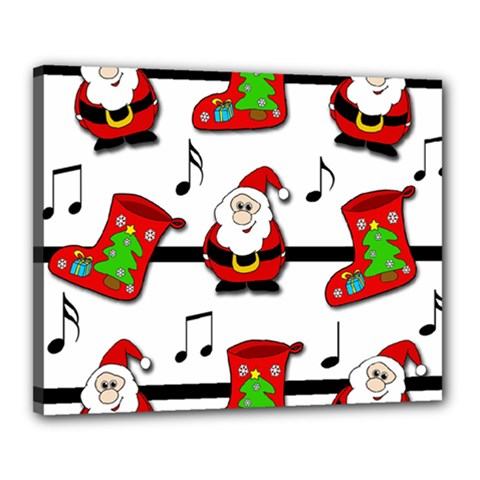 Christmas Song Canvas 20  X 16
