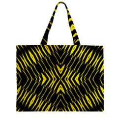 Yyyyyyyyy Zipper Mini Tote Bag by MRTACPANS