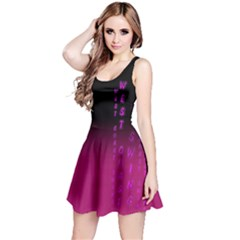 Wcs   Pink Purple Reversible Sleeveless Dresses