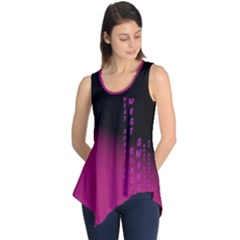 Wcs   Pink Purple Sleeveless Tunic