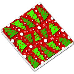 Twisted Christmas Trees Small Memo Pads by Valentinaart