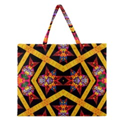 Titre Terre Zipper Large Tote Bag by MRTACPANS