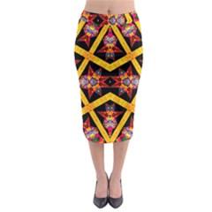 TITRE TERRE Midi Pencil Skirt