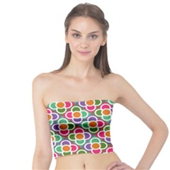 Modernist Floral Tiles Tube Top by DanaeStudio