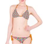 Modernist Floral Tiles Bikini