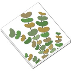 Green Decorative Plant Small Memo Pads by Valentinaart