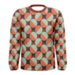 Modernist Geometric Tiles Men s Long Sleeve Tee