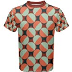 Modernist Geometric Tiles Men s Cotton Tee