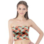 Modernist Geometric Tiles Tube Top