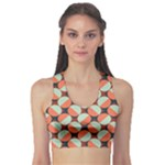 Modernist Geometric Tiles Sports Bra