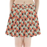 Modernist Geometric Tiles Pleated Mini Skirt