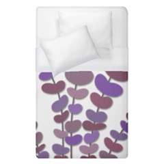 Purple decorative plant Duvet Cover Single Side (Single Size)