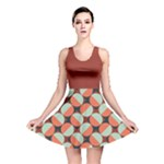 Modernist Geometric Tiles Reversible Skater Dress