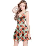 Modernist Geometric Tiles Reversible Sleeveless Dress