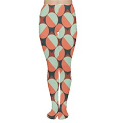 Modernist Geometric Tiles Tights