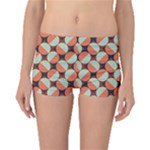 Modernist Geometric Tiles Boyleg Bikini Bottoms