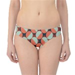 Modernist Geometric Tiles Hipster Bikini Bottoms