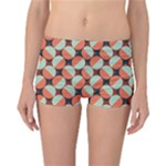 Modernist Geometric Tiles Reversible Boyleg Bikini Bottoms