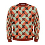 Modernist Geometric Tiles Men s Sweatshirt
