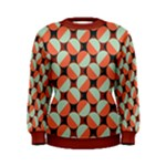 Modernist Geometric Tiles Women s Sweatshirt